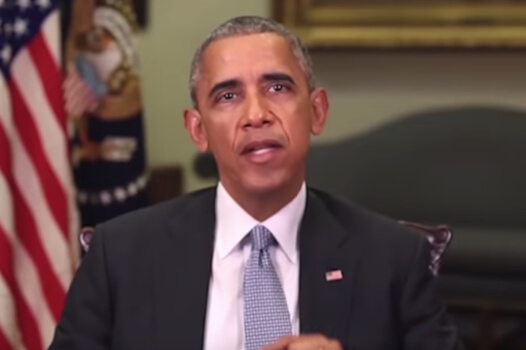 Deepfake using Barack Obama to make a speech