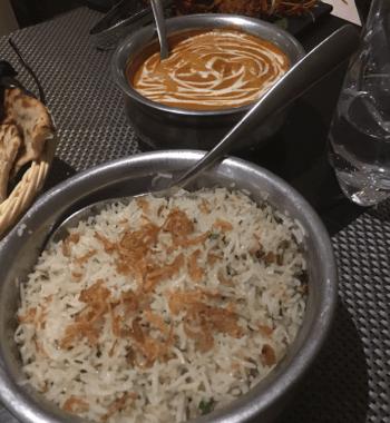 Pots of Indian cuisine
