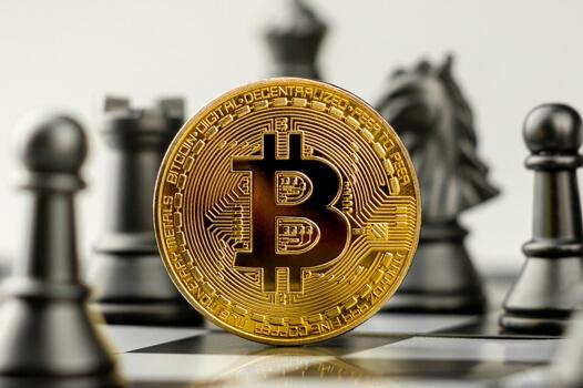 Bitcoin on a chessboard