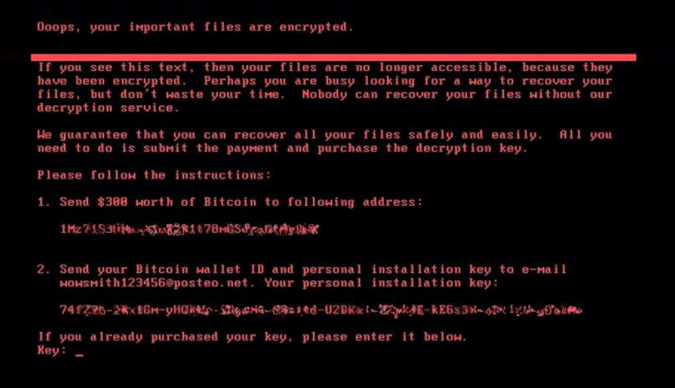 Age of ransomware