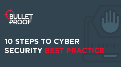 Cyber Security Best Practice Infographic