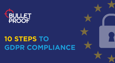 10 steps you need to take to become GDPR compliant infographic