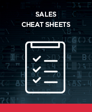 Download the Sales Cheat Sheets from Bulletproof